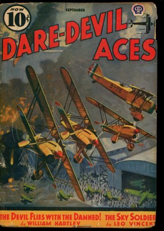 Dare-Devil Aces - 09/39 - Condition: G-VG - Popular