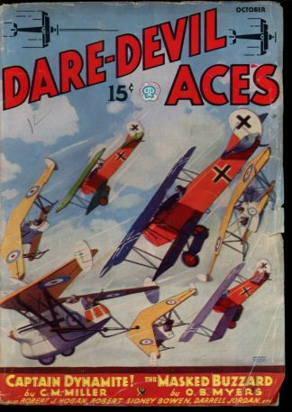 Dare-Devil Aces - 10/35 - Condition: VG - Popular