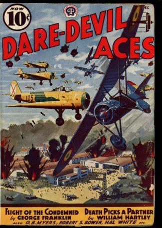 Dare-Devil Aces - 12/38 - Condition: G-VG - Popular