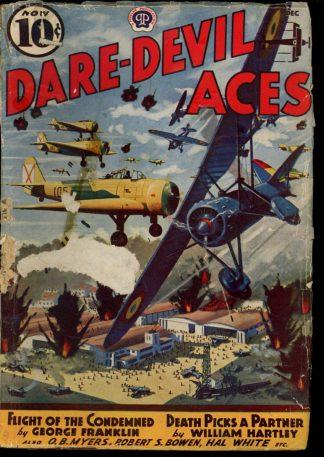 Dare-Devil Aces - 12/38 - Condition: G - Popular