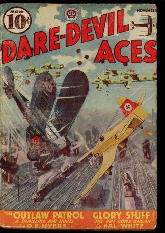 Dare-Devil Aces - 11/38 - Condition: G - Popular
