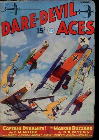 Dare-Devil Aces - 10/35 - Condition: G-VG - Popular