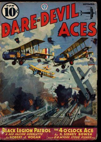 Dare-Devil Aces - 09/36 - Condition: VG - Popular