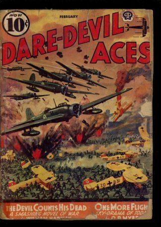 Dare-Devil Aces - 02/40 - Condition: G - Popular