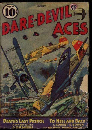 Dare-Devil Aces - 01/40 - Condition: G - Popular