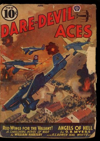 Dare-Devil Aces - 06/40 - Condition: G-VG - Popular