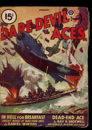 Dare-Devil Aces - 01/46 - Condition: VG - Popular