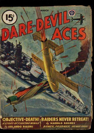 Dare-Devil Aces - 03/46 - Condition: FA - Popular