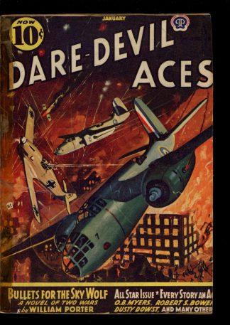 Dare-Devil Aces - 01/42 - Condition: FA - Popular