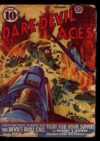 Dare-Devil Aces - 09/41 - Condition: FA-G - Popular