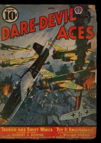 Dare-Devil Aces - 04/41 - Condition: G - Popular