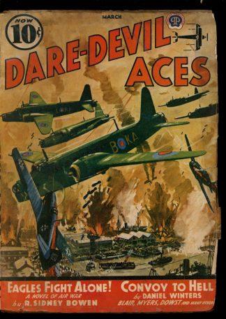 Dare-Devil Aces - 03/41 - Condition: G - Popular