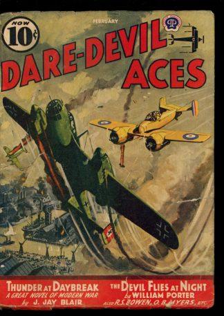 Dare-Devil Aces - 02/41 - Condition: G - Popular