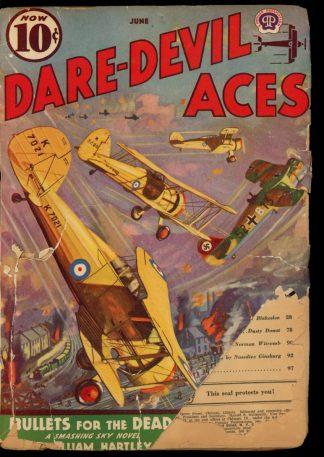 Dare-Devil Aces - 06/39 - Condition: PR - Popular