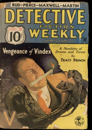 Detective Fiction Weekly - 12/29/34 - Condition: FA - Munsey
