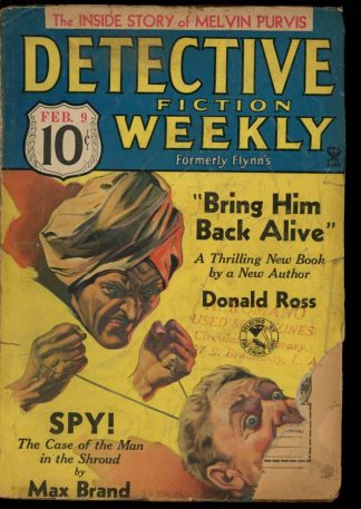 Detective Fiction Weekly - 02/09/35 - Condition: G - Munsey