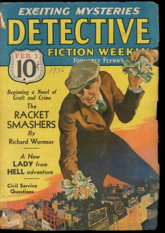 Detective Fiction Weekly - 02/01/36 - Condition: G - Munsey