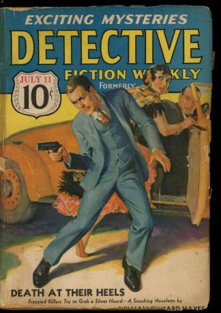 Detective Fiction Weekly - 07/11/36 - Condition: FA-G - Munsey