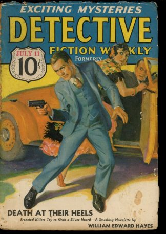 Detective Fiction Weekly - 07/11/36 - Condition: G - Munsey