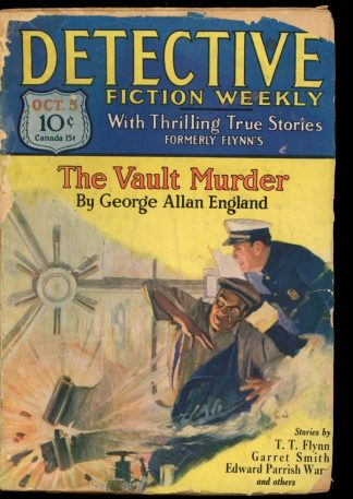Detective Fiction Weekly - 10/05/29 - Condition: FA-G - Munsey