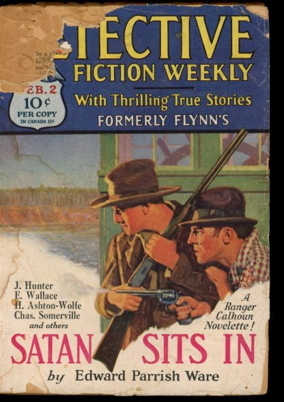 Detective Fiction Weekly - 02/02/29 - Condition: PR - Munsey
