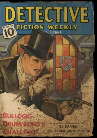 Detective Fiction Weekly - 03/13/37 - Condition: FA-G - Munsey
