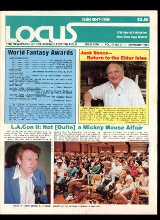 Locus - #286 - 11/84 - VG-FN - Locus Publications