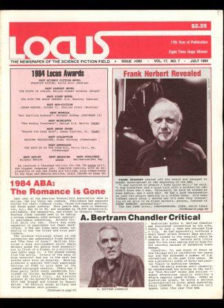 Locus - #282 - 07/84 - VG-FN - Locus Publications