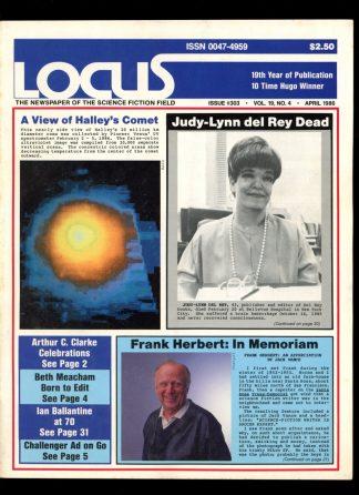 Locus - #303 - 04/86 - VG-FN - Locus Publications
