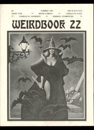 Weirdbook - #22 - SUMMER/87 - VG-FN - W. Paul Ganley