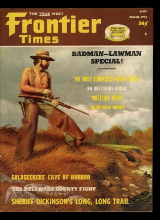 Frontier Times - 03/73 - 03/73 - VG - Western Publications