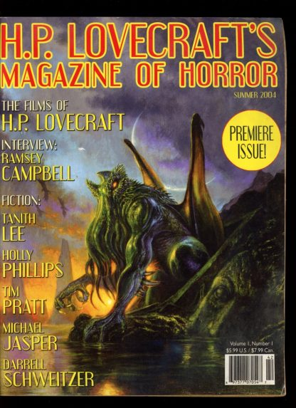 H.P. Lovecraft's Magazine Of Horror - SUMMER/04 - SUMMER/04 - G - Wildside Press