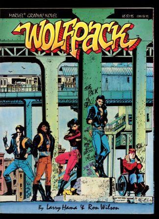Marvel Graphic Novel: Wolfpack - #31 - 1st Print - -/87 - VG-FN - Marvel