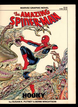 Marvel Graphic Novel: Amazing Spider-Man - #22 - 1st Print - -/86 - VG-FN - Marvel