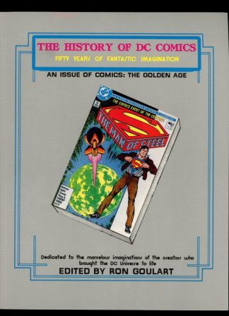History Of Dc Comics Fifty Years Of Fantastic Imagination - 1st Print - -/87 - 9.2 - Schuster & Schuster