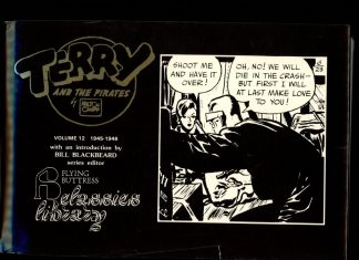 Terry And The Pirates - VOL.12 - #321 - -/87 - VG/NF - Flying Buttress