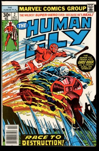 HUMAN FLY - #2 - 10/77 - 9.6 - 10-104391