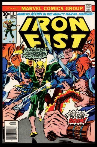 IRON FIST - #9 - 11/76 - 9.0 - 10-104429
