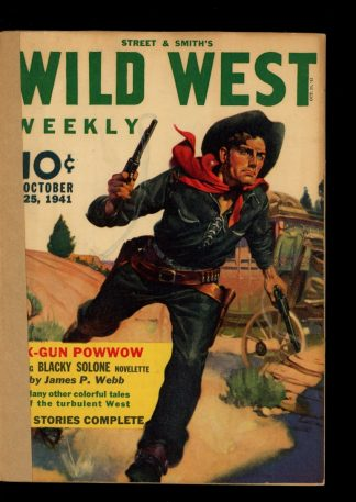 Wild West Weekly - 10/25/41 - Condition: FA - Street & Smith