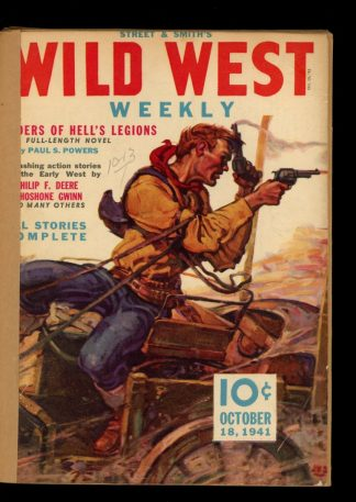 Wild West Weekly - 10/18/41 - Condition: FA - Street & Smith