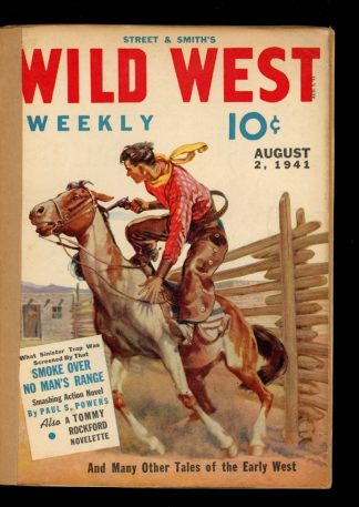 Wild West Weekly - 08/02/41 - Condition: FA - Street & Smith