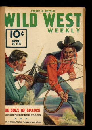 Wild West Weekly - 04/26/41 - Condition: FA - Street & Smith