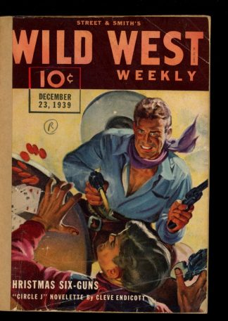 Wild West Weekly - 12/23/39 - Condition: FA - Street & Smith