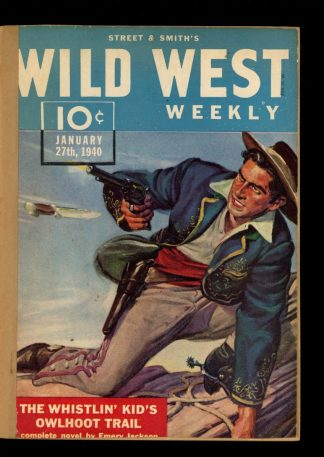 Wild West Weekly - 01/27/40 - Condition: FA - Street & Smith