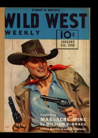 Wild West Weekly - 01/06/40 - Condition: FA - Street & Smith