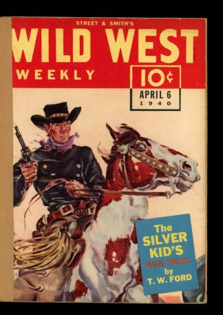 Wild West Weekly - 04/06/40 - Condition: FA - Street & Smith