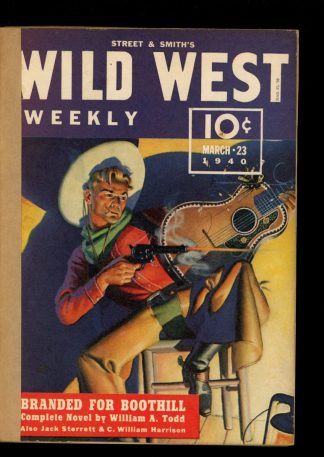 Wild West Weekly - 03/23/40 - Condition: FA - Street & Smith