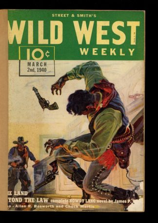 Wild West Weekly - 03/02/40 - Condition: FA - Street & Smith
