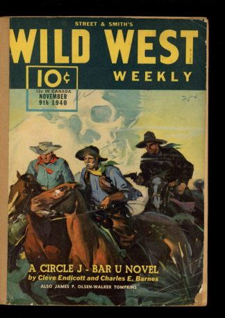 Wild West Weekly - 11/09/40 - Condition: FA - Street & Smith