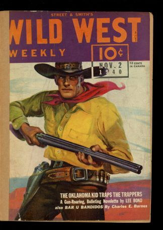 Wild West Weekly - 11/02/40 - Condition: FA - Street & Smith